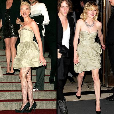 Scarlett Johansson y Kirsten Dunst