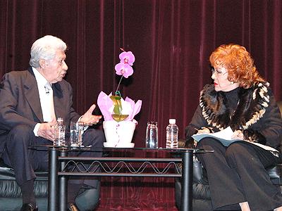 Ignacio Lopez Tarso y Silvia Pinal
