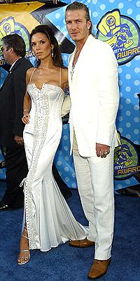 David y Victoria Beckham en 2003