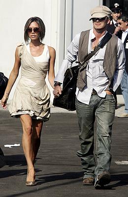 David y Victoria Beckham en 2006