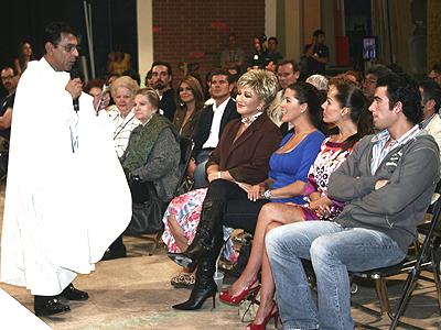 Alicia Machado, Sharis Cid, Angelica Maria y Jose Luis Resendez