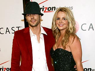 Kevin Federline y Britney Spears