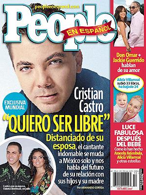 Octubre Cover Cristian Castro