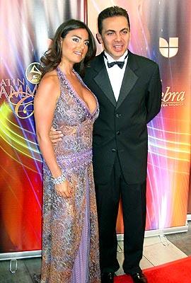 Cristian Castro y Valeria Lieberman