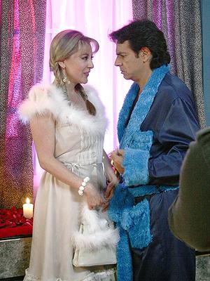 Edith Gonzalez con Eugenio Derbez