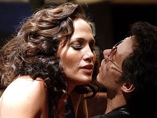 Jennifer Lopez y Marc Anthony en El Cantante