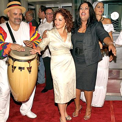 Gloria Estefan y India