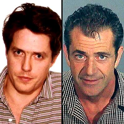 Hugh Grant and Mel Gibson