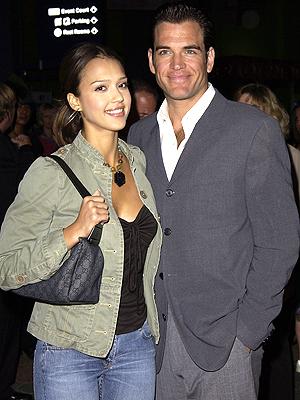 Jessica Alba y Michael Weatherly