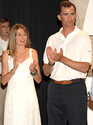 Letizia y Prince Felipe