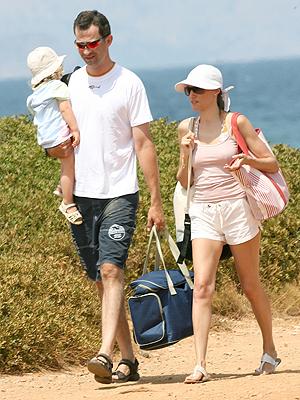 principal Prince Felipe y Princess Letizia
