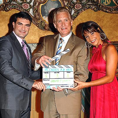 Mauricio Islas, Don Browne y Lorena Rojas