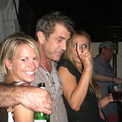 Mel Gibson buscando fea