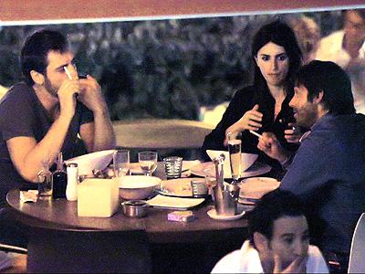 Penélope Cruz, Javier Bardem y Jordi Mollá