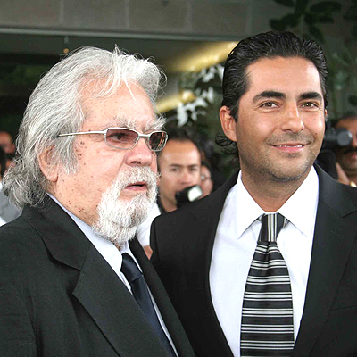 Raul Araiza con hijo