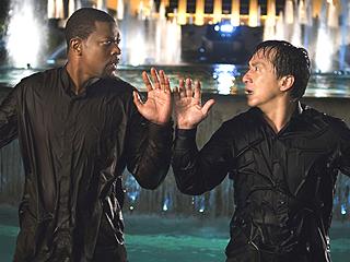 Chris Tucker y Jackie Chan en Rush Hour