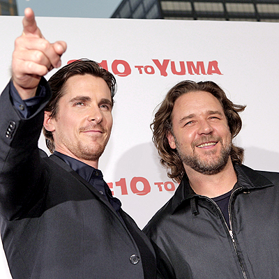 Christian Bale y Russell Crowe
