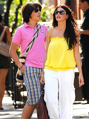Sofia Vergara con hijo, Manolo
