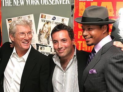 Richard Gere, Richard Shepard y Terrence Howard