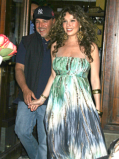 Tommy Mottola y Thalia