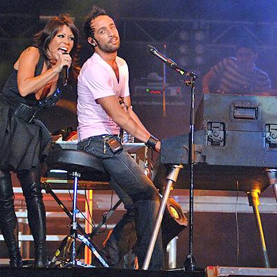 Camila con Alejandra Guzman