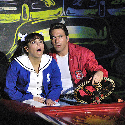 Angelica Vale con Alex Ibarra