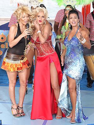 Ivy Queen, Charytin y Marisa Del Portillo