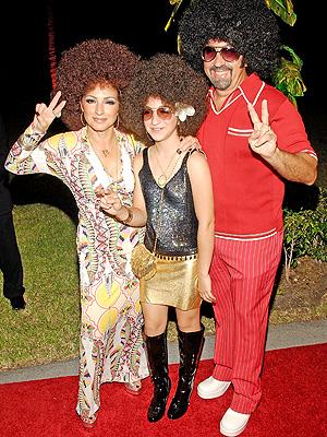 principal Gloria Estefan, Emily Marie y Emilio Estefan