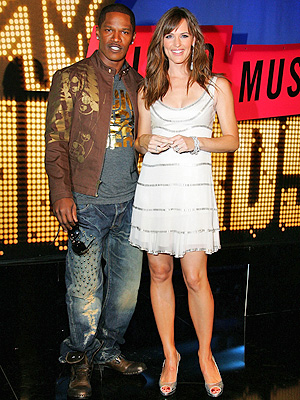 Jamie Foxx con Jennifer Garner