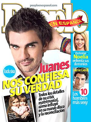 Juanes magazine cover Noviembre 2007