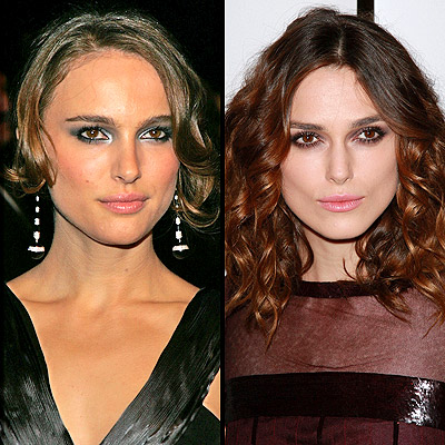 NATALIE PORTMAN (LEFT) AND KEIRA KNIGHTLEY