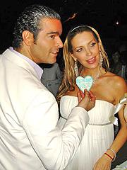 Pablo Montero y Sandra Vidal