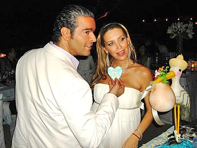 Pablo Montero y Sandra Vidal baby shower
