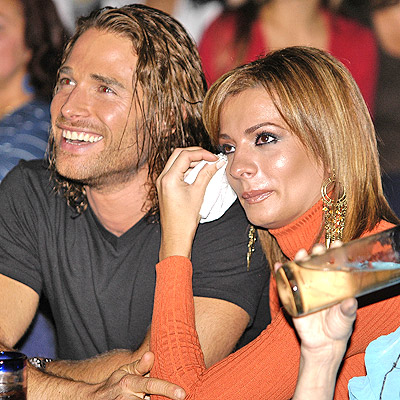Sebastian Rulli con Cecilia Galeano