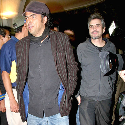 Alejandro Gonzalez y Alfonso Cuaron