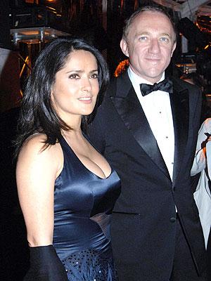 François-Henri Pinault y Salma Hayek