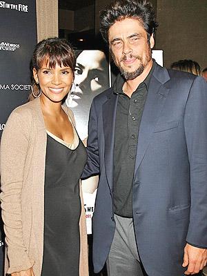 Halle Berry y Benicio Del Toro