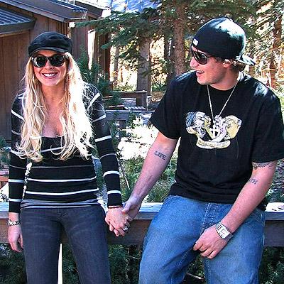Lindsay Lohan y Riley Giles