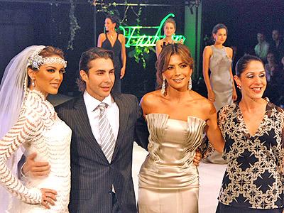 Patricia Manterola, Jacqueline Bracamontes y Nicolas Felizola