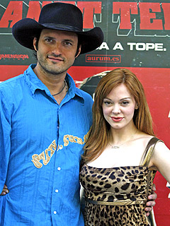 Robert Rodriguez & Rose McGowan