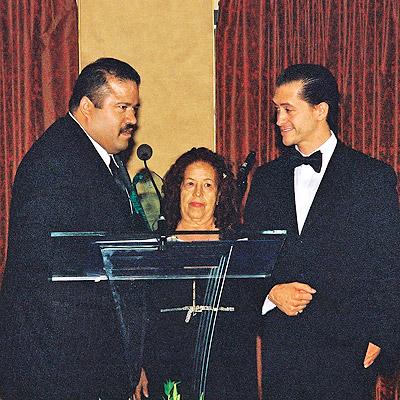 Ruben Guerra y Clifton Collins Jr.