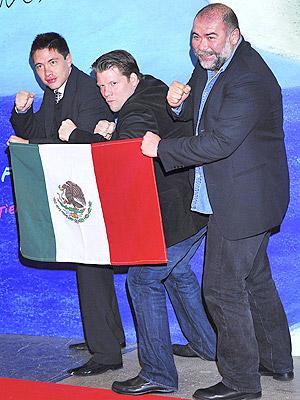 Christopher Zalla, Jesus Ochoa y Armando Hernandez