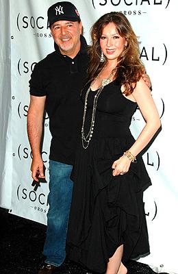 Thalia y Tommy Mottola