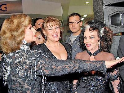 Ana Luisa Pelufo, Alejandra Avalos y Yolanda Montes