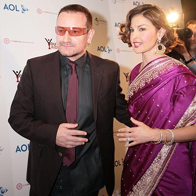Bono y Ashley Judd