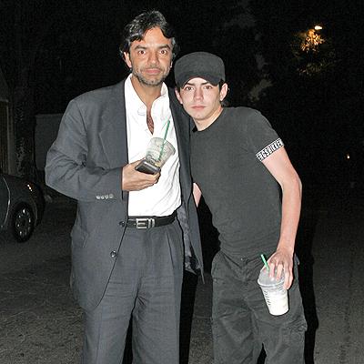 Eugenio Derbez con hijo Jose Eduardo Derbez