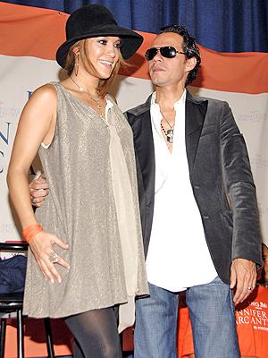 Jennifer Lopez y Marc Anthony en Nueva York: Bronx