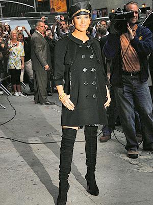 Jennifer Lopez en Nueva York: David Letterman
