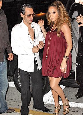 Jennifer Lopez y Marc Anthony en South Beach