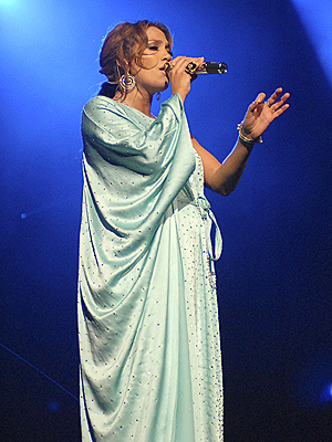 Jennifer Lopez en concierto en Miami